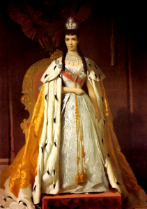 Princess with Robe and Crown