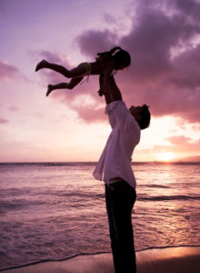 Father Celebrating Daughter