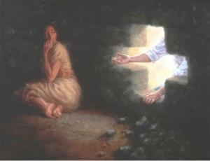 Jesus Wanting to Comfort