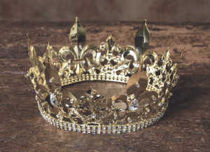 Medieval Style Golden Crown